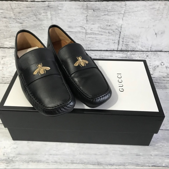 c4fbee697 Gucci Shoes | Bee Loafers Mens Size 9 Firm Price | Poshmark